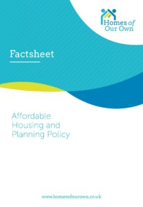 Factsheet Affordable Housing and Planning Policy