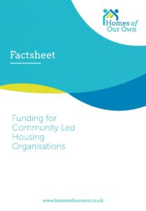 Factsheet Funding for Community Led Housing Organisations