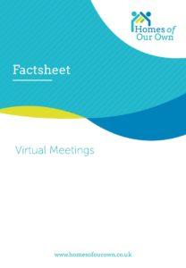 Factsheet Virtual Meetings