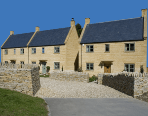 Traditional Stone Housing Development