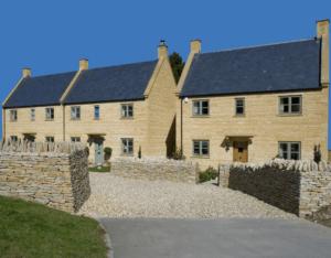 Traditional Stone Housing Development