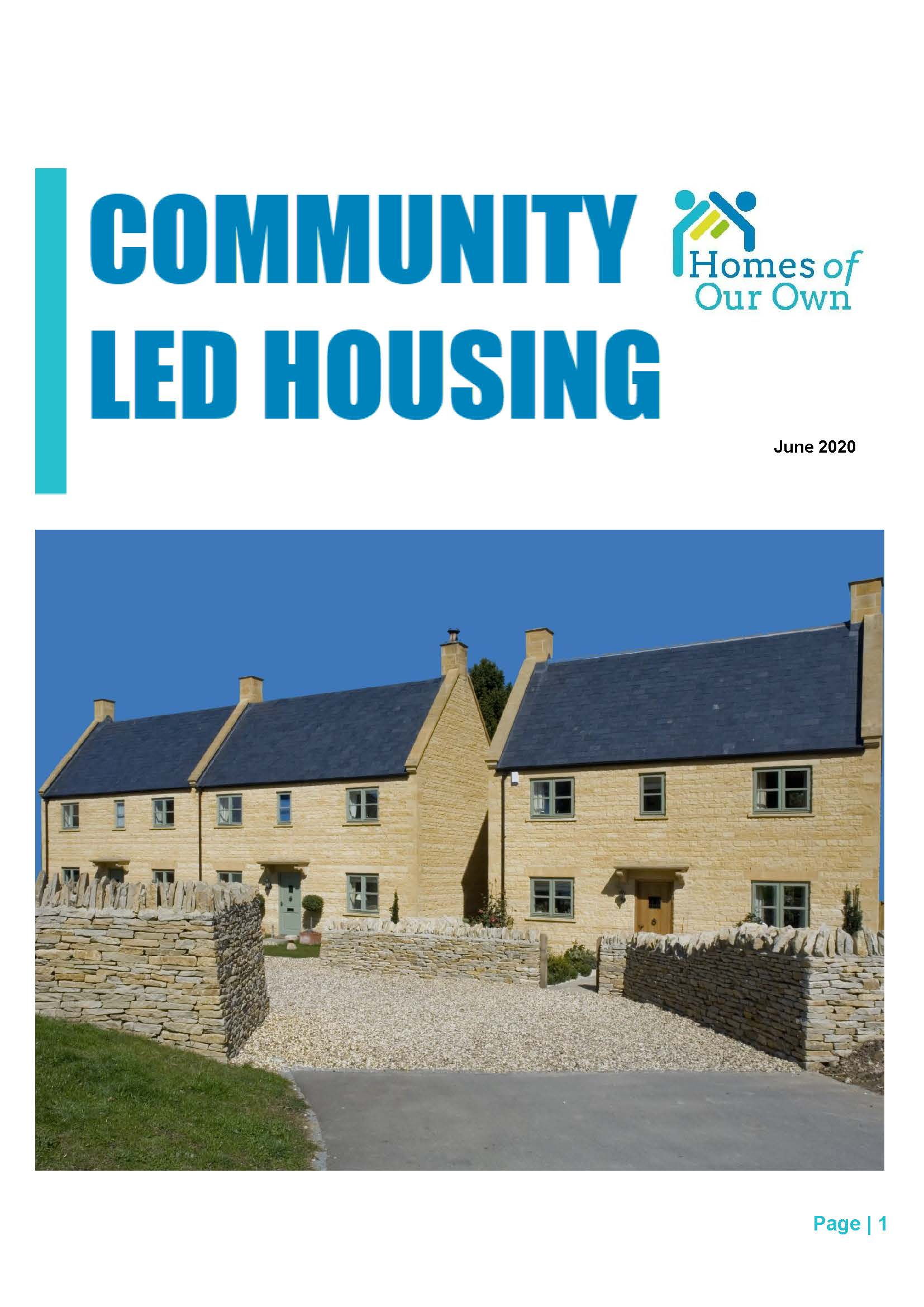Homes of Our Own Q2 2020 Newsletter