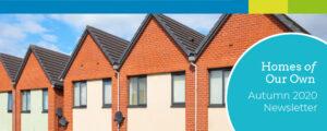 Community Led Housing Autumn 2020 Newsletter banner