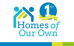 Homes of Our Own Anniversary Graphic