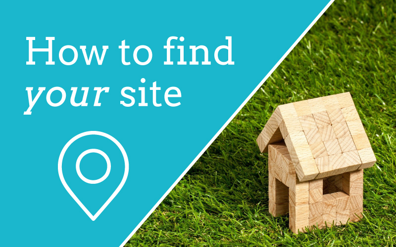 How to find your site
