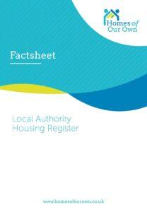 Fact sheet 12 Local Authority Housing Register