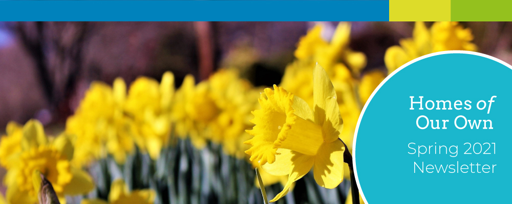 Spring 2021 Newsletter Banner Image