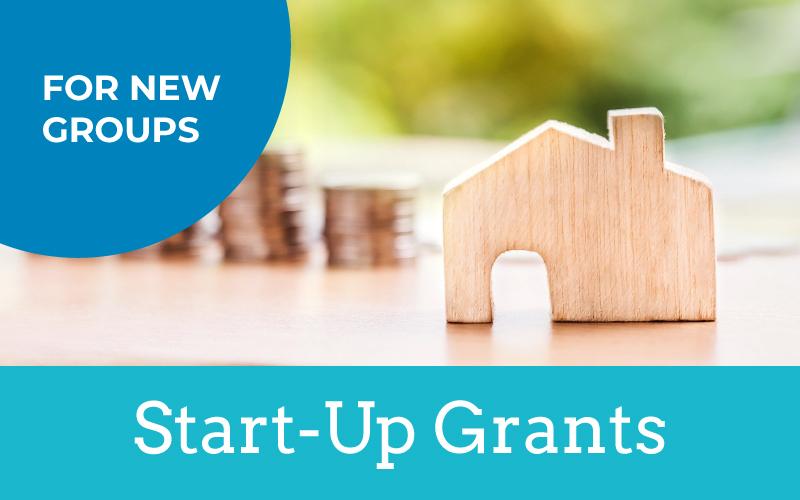 start up grants for new community led housing groups