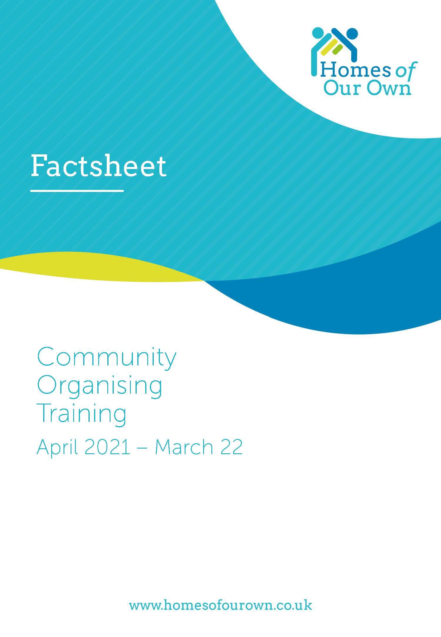 Legal formats for community led housing groups factsheet
