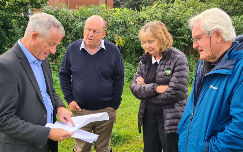 Seend CLT and White Horse Housing Association Look at Plans